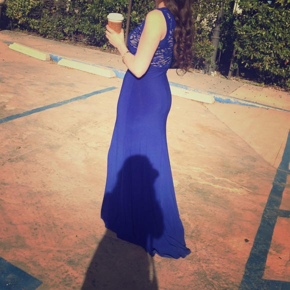Dresses Formal Royal Blue Wedding Dress Bridesmaid Guest Poshmark